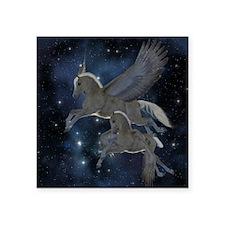 """Pegasus Square Sticker 3"""" x 3"""""""
