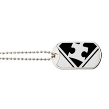 Autism is a Super Power Dog Tags