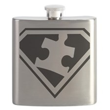 Autism is a Super Power Flask