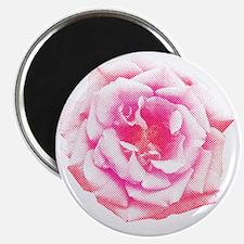 Halftone Rose Magnet