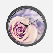Dreamy rose Wall Clock