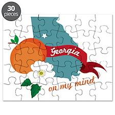 Georgia On My Mind Puzzle