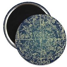 Vintage zodiac constellation of northern st Magnet