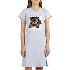 Yorkshire Terrier Puppy Women's Nightshirt