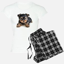 Yorkshire Terrier Puppy Pajamas