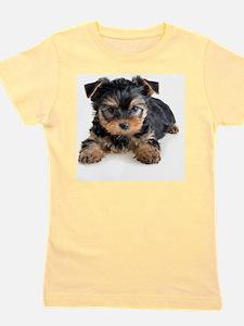 Yorkshire Terrier Puppy Girl's Tee