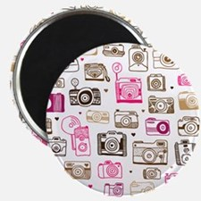 Photo camera pattern Magnet