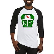 Kentucky Turnpike Shield Baseball Jersey