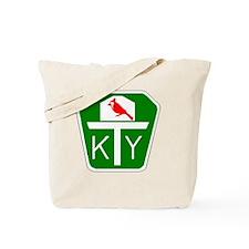 Kentucky Turnpike Shield Tote Bag