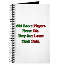 Old Bocce Players Never Die. Journal