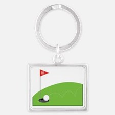 18th Hole Landscape Keychain