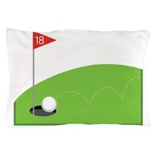 18th Hole Pillow Case