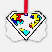 Autism is a Super Power Ornament