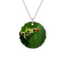 Red eyed tree frog Necklace