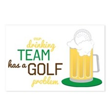 Golf Problem Postcards (Package of 8)