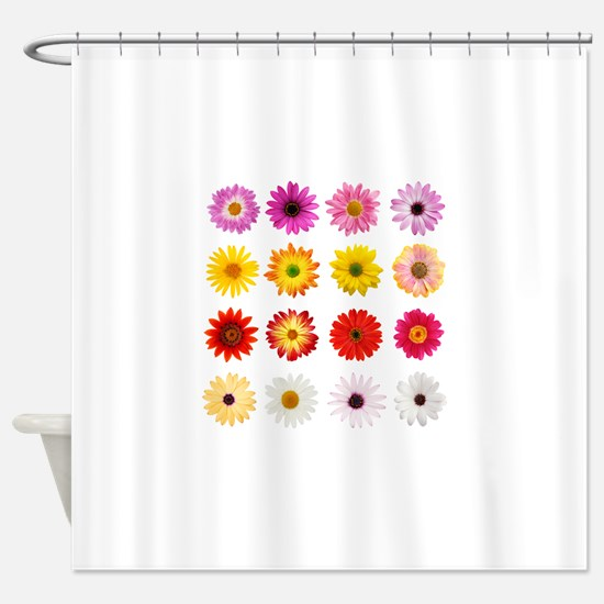 The Perfect Daisy Collection Shower Curtain