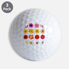 The Perfect Daisy Collection Golf Ball