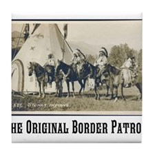 The Original Border Patrol Tile Coaster