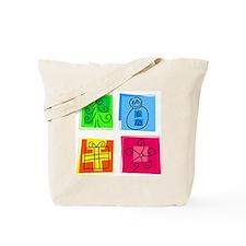 Christmas Icons Tote Bag