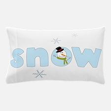 Snow Pillow Case