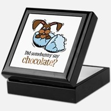 Somebunny Chocolate Keepsake Box