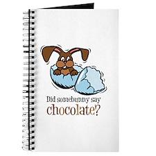 Somebunny Chocolate Journal