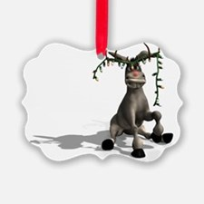 Christmas Donkey Ornament