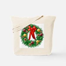 ChristmasWreath Tote Bag