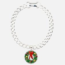 ChristmasWreath Bracelet