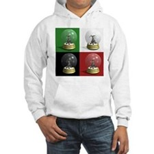 Christmas Donkey Snow Globes Hoodie