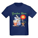 Garden Diva Kids Dark T-Shirt