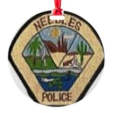 Needles Police Department Ornament