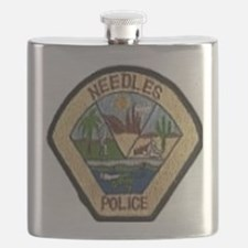 Needles Police Department Flask