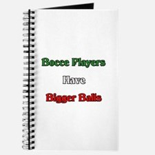 Bocce Players Have Bigger Balls Journal
