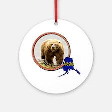 Alaska! Round Ornament