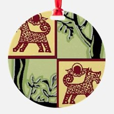 Timber Tails Logo Ornament