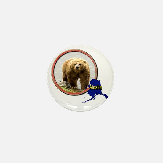 Alaska! Mini Button