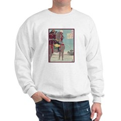 Japanese illustration Sweatshirt