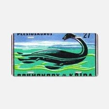 Plesiosaurus Czechoslovakia Aluminum License Plate
