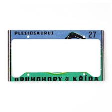 Plesiosaurus Czechoslovakian  License Plate Holder