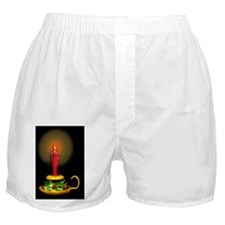 Christmas Candle Boxer Shorts