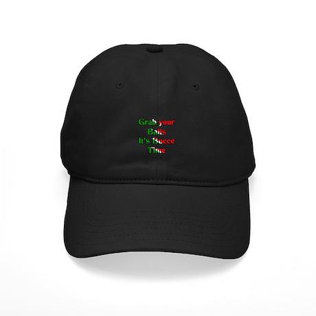 Grab your Balls. It's Bocce T Black Cap