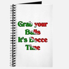 Grab your Balls. It's Bocce T Journal