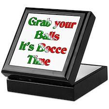 Grab your Balls. It's Bocce T Keepsake Box