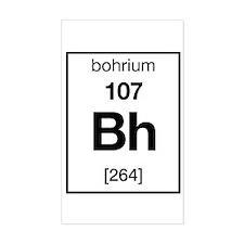 Bohrium Rectangle Decal