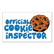 Official Cookie Inspector Decal