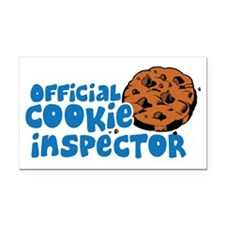 Official Cookie Inspector Rectangle Car Magnet