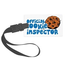 Official Cookie Inspector Luggage Tag