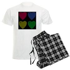 Four Hearts Online Love Pajamas