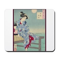 Japanese illustration Mousepad